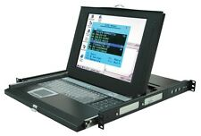 "SL-18A 15 inch Rack Console KVM Switch 8 port USB or PS/2 VGA ""All In One"""