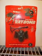 1966 MATTEL BATMAN CAP FIRING BAT BOMB MOC SEALED