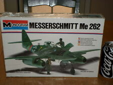 WW#2, GERMAN, MESSERSCHMITT - Me 262 FIGHTER PLANE, PLASTIC MODEL KIT,Scale 1/48