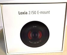 New ZEISS LOXIA Loxia 50mm f/2 Planar T* Lens for Sony E Mount Made in Japan