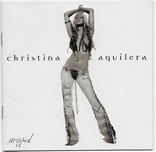 Stripped by Christina Aguilera CD 2002 RCA