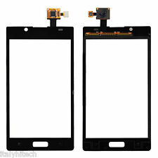 TOUCH SCREEN LG L7 P700 NERO BLACK RICAMBIO VETRO SPARE PART PER DISPLAY SCHERMO