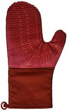 NEW OXO Good Grips Silicone Oven Mitt with Magnet, Cherry Red