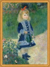 A Girl with a Watering Can Pierre-Auguste Renoir Gießkanne Mädchen B A1 03100
