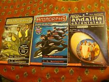 Animorphs:THE SICKNESS & THE MUTATION by K. A. Applegate & ANDALITE CHRONICLES