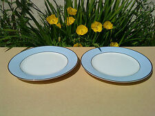 SET OF 2 ROYAL DOULTON DAILY MAIL REGENCY GOLD SIDE PLATES - BY BRUCE OLDFIELD