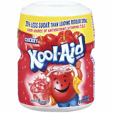 New Kool-Aid Cherry Drink Mix Tub / Canister - 19oz - American Import