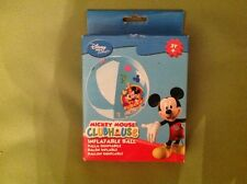 Disney mickey mouse clubhouse eureka inflatable ball new in box