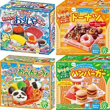 Japanese 4item candy making kit Popin Cooking Kracie Happy Kitchen Japan New