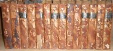 The Works of Henry Fielding Esq in 14 Volumes 1808, Full Leather Bindings - RARE