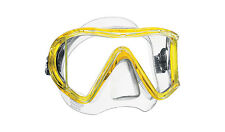 Mares i3 Liquidskin 3 Lens Quality Scuba Diving Snorkeling Mask Yellow