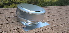 Aura Vent, 12 In Diameter Roof Attic Ventilator, Active Ventilation, Exhaust