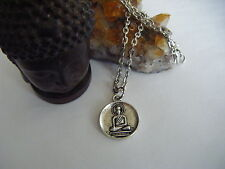 Spiritual Healing Buddha Necklace Awakened One Good Fortune Luck Wellness Love