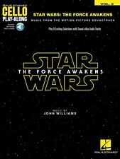 Star Wars: The Force Awakens Cello Play-Along Book and Audio NEW 000157649