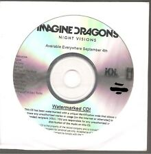 "IMAGINE DRAGONS ""Night Visions"" US Promo CD sealed"