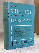THE CHURCH AND THE GOSPEL By Jean Guitton - 1961 - Catholic ecumenical dialogue