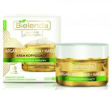 BIELENDA ARGAN MACADAMIA MARULA CORRECTING FACE CREAM DAY NIGHT PRECIOUS OILS
