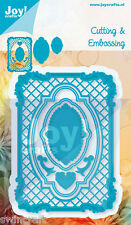 JOY CRAFTS Die Cutting & Embossing Stencil FRAME& CONTENT 7pc  6002/0421