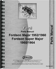 Ford 4000 5000 Major Tractor Parts Manual (FO-P-MAJOR)