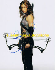 Jessica Biel Blade Trinity Abigail Whistler With Bow Autograph UACC  RD 96