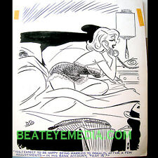 DAN DECARLO ORIGINAL ART-COMIC ART-PIN UPS-PLAYBOY-bill ward-ARCHIE-ANIMATION