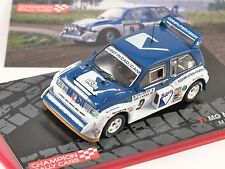 1986 MG METRO 6R4 1000 Lakes Rally 1/43 scale model ALTAYA
