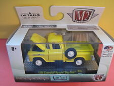 "M2 MACHINES:  "" 1958 Chevy Apache Step Side / R38 16-22 yellow enamel"