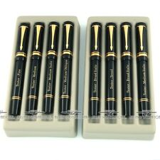 Parker Duofold Black w/ 18k Gold Nib 8 Piece Tester Pen Set - EXTREMELY RARE!!!