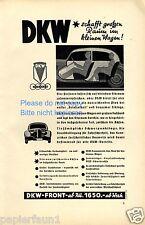 DKW FRONT insegne di 1936 Auto Union pubblicità ad