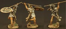 Tin toy soldiers ELITE painted 54 mm  Medieval warrior in the attack