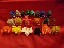 Godzilla Mini Figure Lot of 20 Bandai SD Mini Figures Ultraman