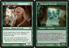 Lambholt Elder // Silverpelt Werewolf x4 Magic the Gathering 4x Dark Ascension