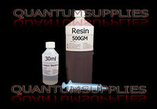 General Purpose Resin, Hardener & Syringe 500gm kit -FOR FIBREGLASS moulds / etc