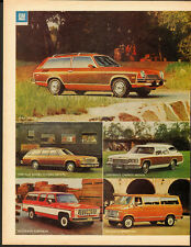 1976 Vega Wagon/Chevrolet/ Full line of 1976 Wagons/Print Ad /2 pages (060213)