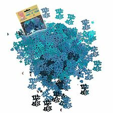 Baby Shower Boy Party Decorations Table Foil Confetti