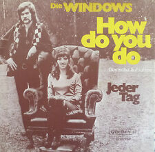 "7"" 1972 COVERVERSION IN MINT- ! WINDOWS : How Do You Do"