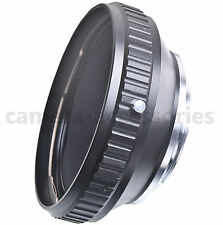 Hasselblad V CFi CFE C CF Zeiss Distagon lens to NIKON DSLR mount camera adapter