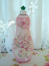 Pink Roses Shabby French Country Chic Soap, Lotion, Shampoo Bottle Apron