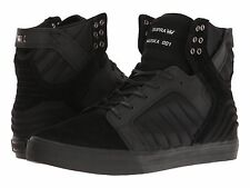 NEW SUPRA SKYTOP EVO BLACK BLACK SURF SKATEBOARD HIP HOP SPORTS SHOES 12