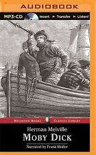 Moby Dick by Herman Melville (2015, MP3 CD, Unabridged)
