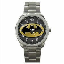 Batman Quality Sport Metal Wrist Watch Gift NEW