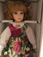 ROYAL ALBERT OLD COUNTRY ROSES 'ROSE' PORCELAIN DOLL NIB