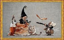 Nimue Cross Stitch Chart # 71 - Les Crepes! - Pancakes!