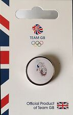 NEW OFFICIAL TEAM GB RIO 2016 OLYMPIC PIN BADGE - PRIDE DIVING - LIMITED EDITION