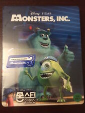 Disney Pixar 1/4 Slip Monsters Inc 3D KimchiDVD Blu-ray Steelbook Brand New