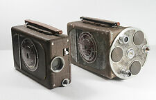 TWO VINTAGE Bell & Howell 16mm Filmo Cameras one Auto Master & one Auto Load