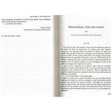 HISTOIRES à DÉCONSEILLER aux GRANDS NERVEUX par HITCHCOCK avec Kersh Fletcher...
