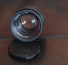 Zeiss planar 1.4/50 T lens for Contax