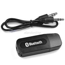 USB Bluetooth 3.5mm Stereo Music Audio Receiver Adapter For iPhone Speaker Mp3
