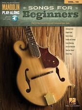 Songs for Beginners Sheet Music Mandolin Play-Along Book and Audio 000156776